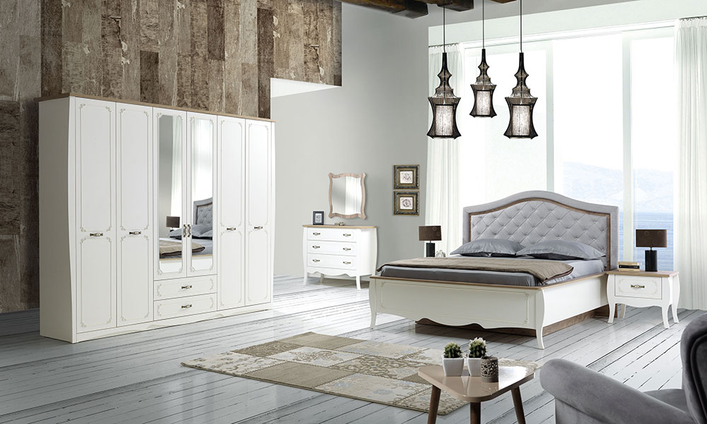 Elizya yatak odas neg l mobilya for Mobilya yatak odasi